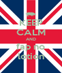 KEEP CALM AND fap no lotion - Personalised Poster A4 size