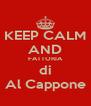 KEEP CALM AND FATTORIA di Al Cappone - Personalised Poster A4 size