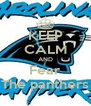 KEEP CALM AND Fear The panthers - Personalised Poster A4 size