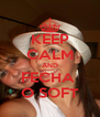 KEEP CALM AND FECHA  O SOFT - Personalised Poster A4 size