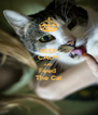KEEP CALM AND Feed  The Cat - Personalised Poster A4 size