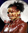 KEEP CALM AND FEEL BAD FOR MARTHA - Personalised Poster A4 size
