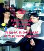 KEEP CALM AND FEEL PROUD  NISHA & SONAM R YUR GR8 BUDDY - Personalised Poster A4 size