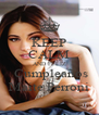 KEEP CALM AND FELIZ  Cumpleaños Maite Perroni - Personalised Poster A4 size