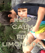 KEEP CALM AND FIFI LIMONADO - Personalised Poster A4 size