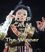 KEEP CALM AND Fifi The Winner - Personalised Poster A4 size