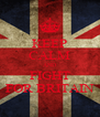 KEEP CALM AND FIGHT FOR BRITAIN - Personalised Poster A4 size