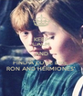 KEEP CALM AND FIND A LOVE LIKE  RON AND HERMIONES'  - Personalised Poster A4 size