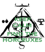 KEEP CALM AND FIND THE HORCRUXES - Personalised Poster A4 size