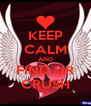 KEEP CALM AND FIND UR CRUSH - Personalised Poster A4 size