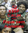 KEEP CALM AND Fique sem Aumento - Personalised Poster A4 size