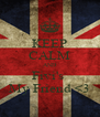KEEP CALM AND Fivi's  My Friend <3 - Personalised Poster A4 size