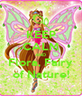 KEEP CALM AND Flora, Fairy of Nature! - Personalised Poster A4 size