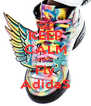 KEEP CALM AND Fly AdidaS - Personalised Poster A4 size