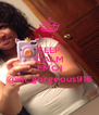 KEEP CALM AND FMOI @im_gorgeous916 - Personalised Poster A4 size