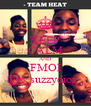 KEEP CALM AND FMOI @x_suzzydior_ - Personalised Poster A4 size