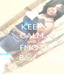 KEEP CALM AND FMOT @A_Boss_Spazin - Personalised Poster A4 size