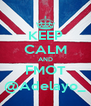 KEEP CALM AND FMOT @Adelayo_ - Personalised Poster A4 size