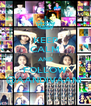 KEEP CALM AND FOLLOW @AANDIVAANF - Personalised Poster A4 size