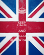 KEEP CALM AND FOLLOW @AAWirandini - Personalised Poster A4 size