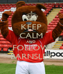 KEEP CALM AND FOLLOW BARNSLEY - Personalised Poster A4 size