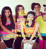 KEEP CALM AND FOLLOW @CIMORELLI - Personalised Poster A4 size