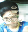 KEEP CALM AND FOLLOW gandalfr_01 - Personalised Poster A4 size