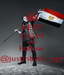 KEEP CALM AND Follow @justinbieb_egy - Personalised Poster A4 size