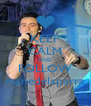 KEEP CALM AND FOLLOW manedelaparra - Personalised Poster A4 size