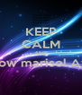 KEEP CALM AND Follow marisol Avila   - Personalised Poster A4 size