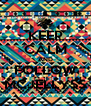 KEEP CALM AND FOLLOW MCJELLYSS - Personalised Poster A4 size