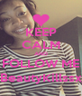 KEEP CALM AND FOLLOW ME @BeautyKillssx_x - Personalised Poster A4 size