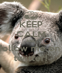KEEP CALM AND follow me on  twitter! - Personalised Poster A4 size