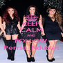 KEEP CALM AND FOLLOW Perrie_Ndublet - Personalised Poster A4 size
