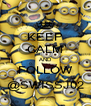 KEEP CALM AND FOLLOW @SWISSJ02 - Personalised Poster A4 size