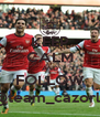KEEP CALM AND FOLLOW @team_cazorla - Personalised Poster A4 size