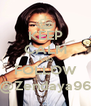 KEEP CALM AND FOLLOW @Zendaya96 - Personalised Poster A4 size