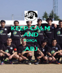 KEEP CALM AND FORÇA ABJ  - Personalised Poster A4 size