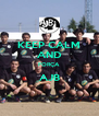 KEEP CALM AND FORÇA AJB  - Personalised Poster A4 size
