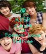 KEEP CALM AND Forever Love SHINee - Personalised Poster A4 size