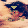 KEEP CALM AND FOREVER LOVE YOUR SHELTIE - Personalised Poster A4 size