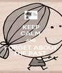 KEEP CALM AND FORGET ABOUT THE PAST  - Personalised Poster A4 size
