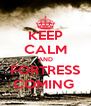 KEEP CALM AND FORTRESS COMING  - Personalised Poster A4 size
