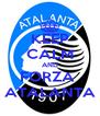 KEEP CALM AND FORZA  ATALANTA - Personalised Poster A4 size
