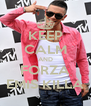 KEEP CALM AND FORZA EMIS KILLA - Personalised Poster A4 size