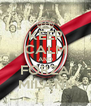 KEEP CALM AND FORZA MILAN!! - Personalised Poster A4 size