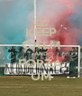 KEEP CALM AND FORZA UM - Personalised Poster A4 size