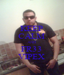 KEEP CALM AND FR33 VIPEX - Personalised Poster A4 size