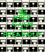 KEEP CALM AND FREAKOUT  - Personalised Poster A4 size