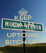 KEEP CALM AND FUCK A UPTOWN BITCH UP  - Personalised Poster A4 size